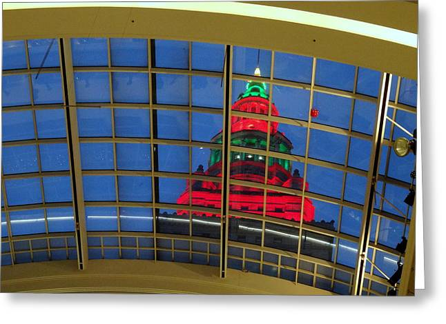 Cleveland Christmas Tower Greeting Card
