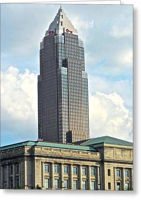Cleveland Key Bank Building Greeting Card