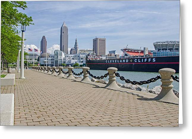 Cleveland Lake Front Greeting Card