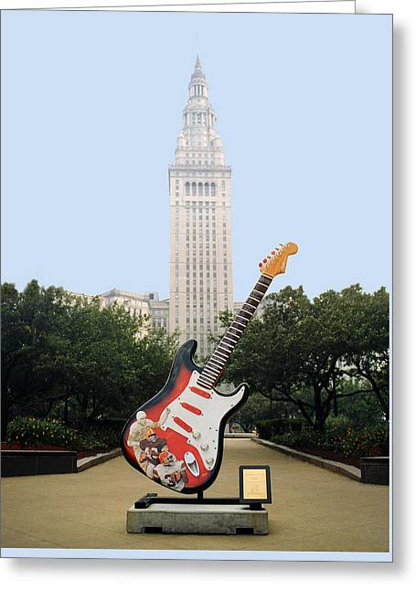 Cleveland Rocks Greeting Card