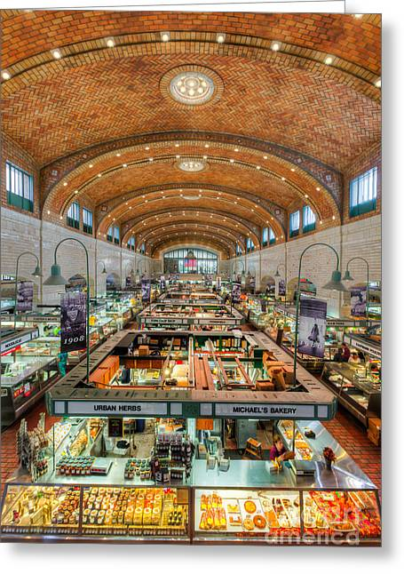 Cleveland West Side Market IIi Greeting Card