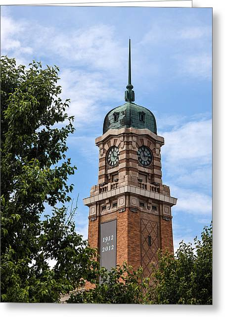Cleveland West Side Market Tower Greeting Card by Dale Kincaid