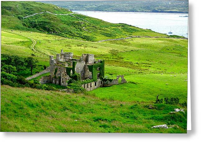 Clifden Castle Greeting Card