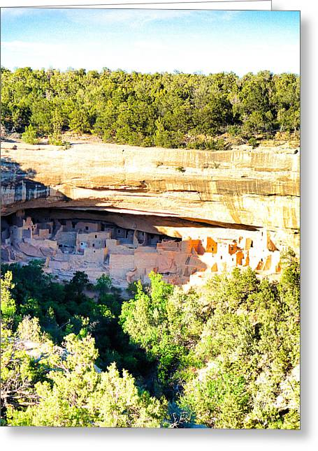 Cliff Palace Study 1 Greeting Card