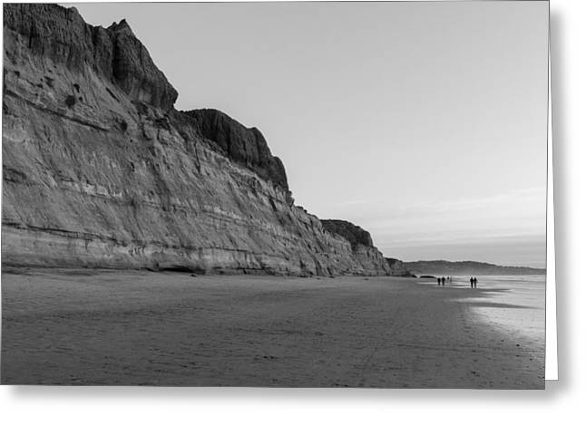 Greeting Card featuring the photograph Cliffs At Torrey Pines Beach by Scott Rackers