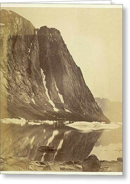 Cliffs Greeting Card by British Library