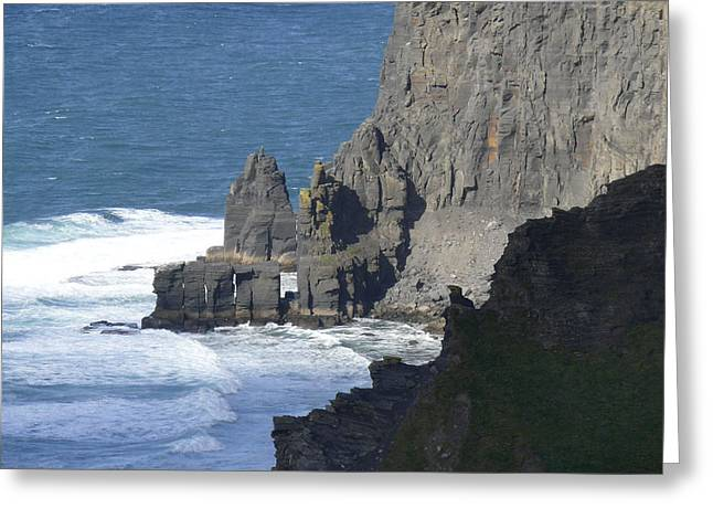 Cliffs Of Moher 6 Greeting Card by Mike McGlothlen