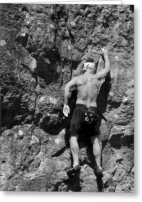 Climb Greeting Card by Off The Beaten Path Photography - Andrew Alexander