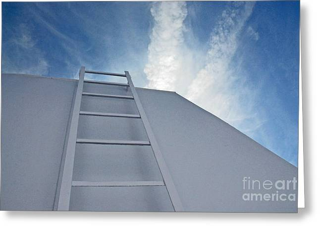 Greeting Card featuring the photograph Climb Up by Lena Wilhite