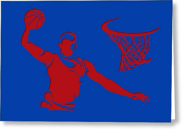 Clippers Shadow Player1 Greeting Card