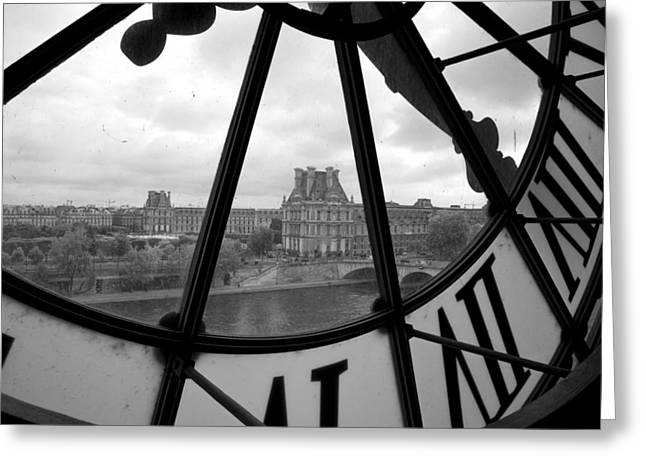 Clock At Musee D'orsay Greeting Card