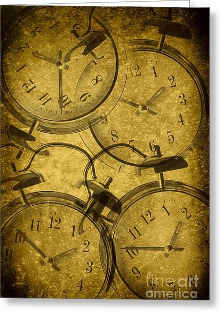 Clocks Greeting Card