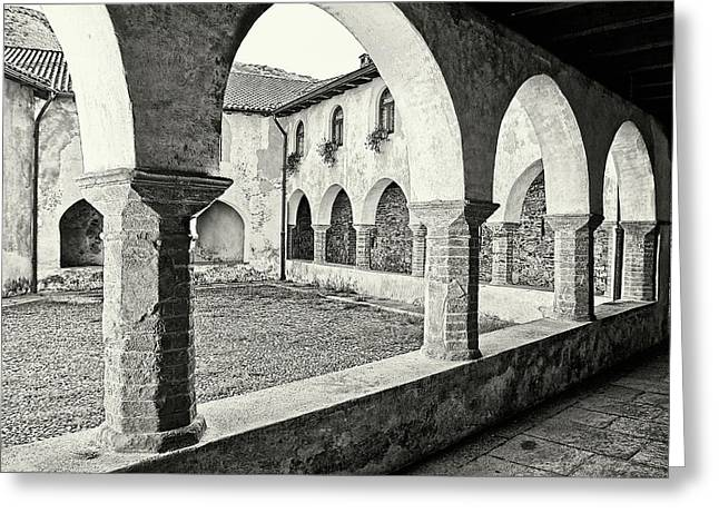 Cloister Greeting Card