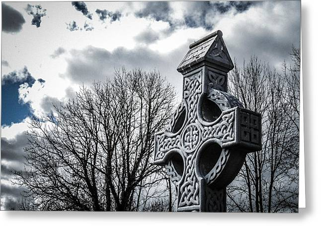 Clondegad Celtic Cross Greeting Card