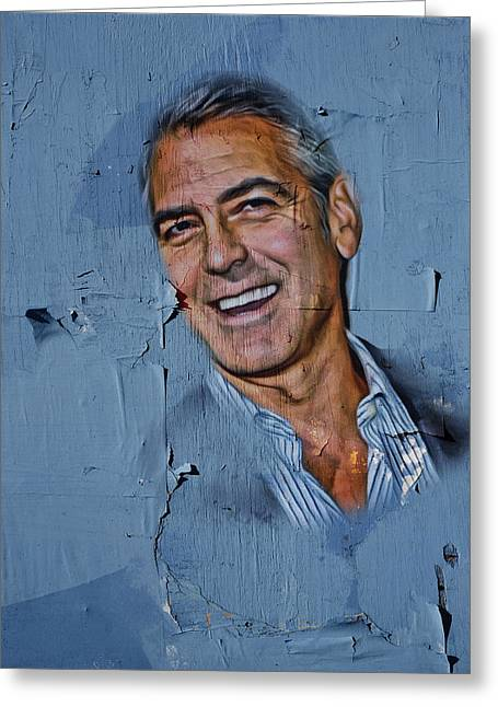 Clooney On Board Greeting Card