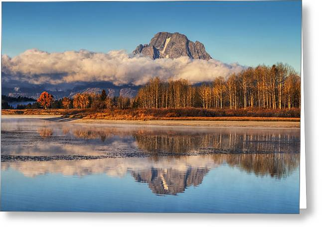 Close Of Autumn Greeting Card by Mark Kiver