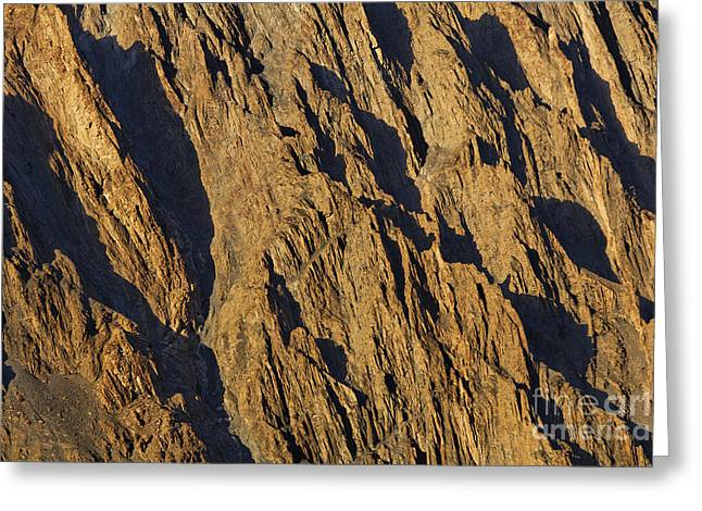Close Up Of Cathedral Spires Mountains Passu Greeting Card by Robert Preston