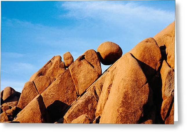 Close-up Of Rocks, Mojave Desert Greeting Card