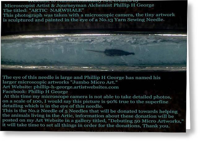 Close-up Photo No.1 Showcasing Polar Bear Needle No.2  Greeting Card by Phillip H George