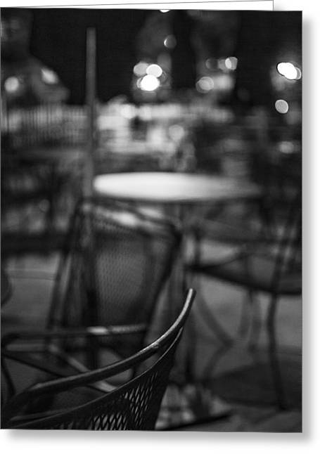 Closed Dining Greeting Card by Michael Williams