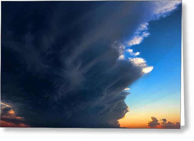 Cloud 20130330-60 Greeting Card by Carolyn Fletcher