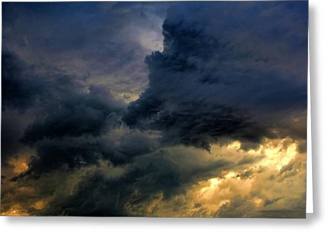 Cloud 20130426-31 Greeting Card by Carolyn Fletcher