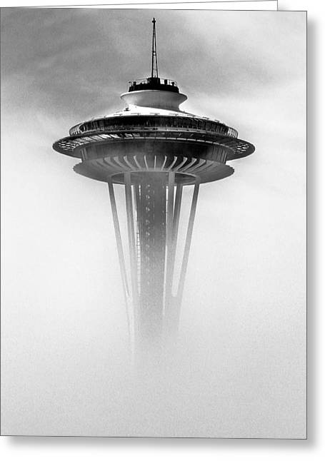 Cloud City 1962 Greeting Card by Benjamin Yeager