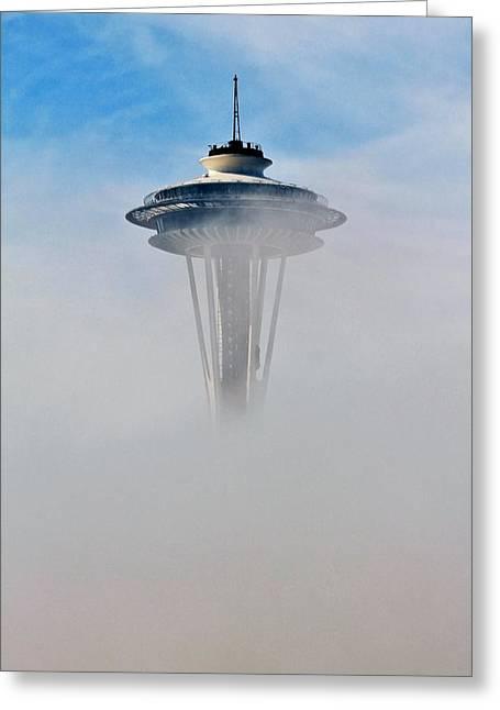 Cloud City Needle Greeting Card