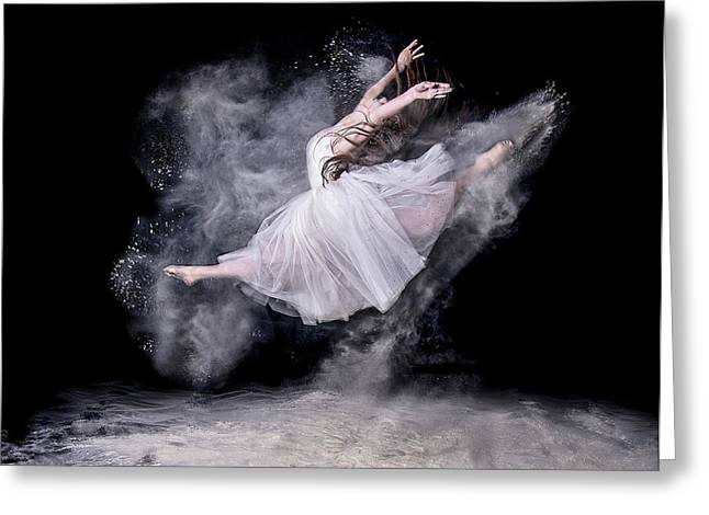 Cloud Dancer Greeting Card