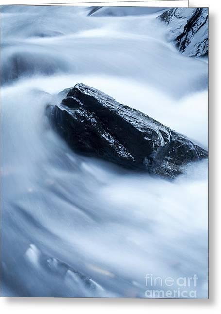 Cloud Falls Greeting Card by Edward Fielding