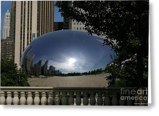 Cloud Gate Greeting Card
