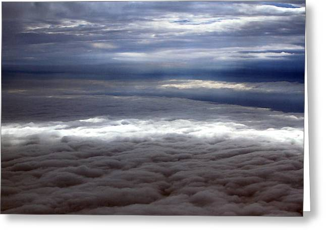 Cloud Layers 1 Greeting Card by Maxwell Amaro