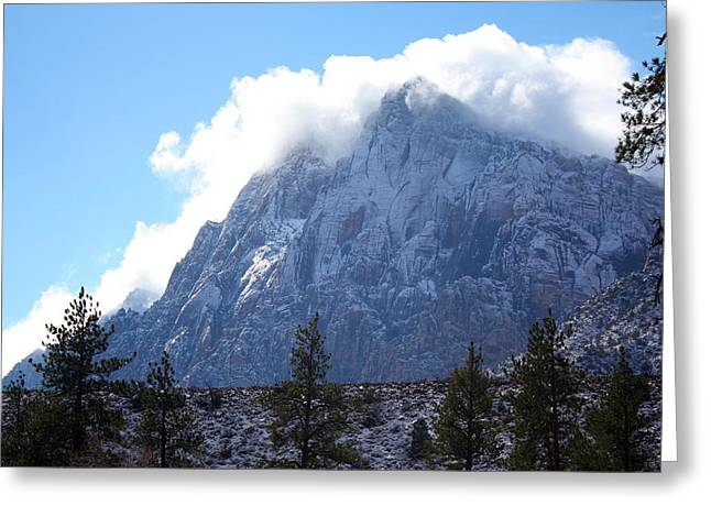 Cloud Mountain Greeting Card