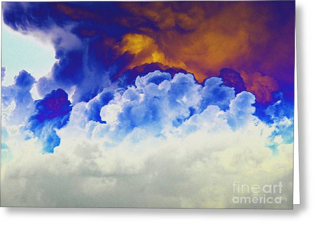 Cloud Nine Greeting Card by Diane Miller