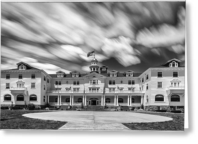 Cloud Painting At The Stanley Hotel Greeting Card
