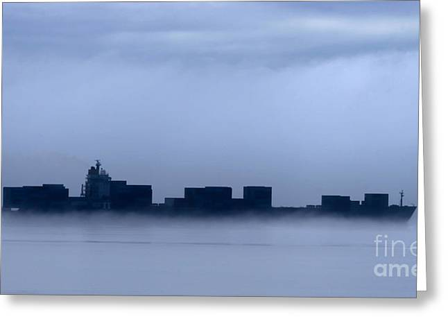 Cloud Ship Greeting Card by Tap On Photo