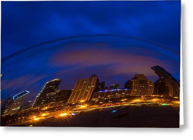 Cloud Skyline Greeting Card by Will Cardoso