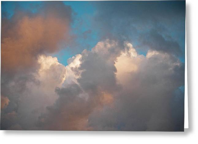 Cloud Study 3 Greeting Card