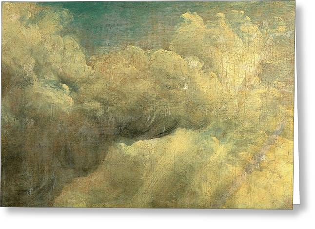 Cloud Study, John Constable, 1776-1837 Greeting Card