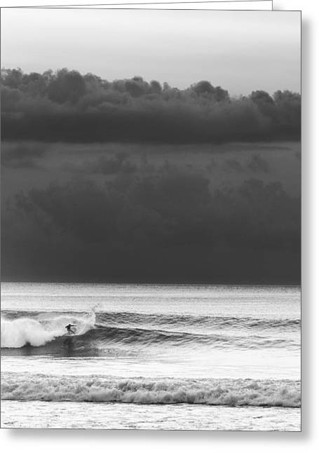 Cloud Surfer Greeting Card by Ocean Photos