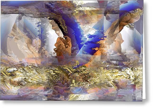 Cloudburst Greeting Card by Ursula Freer