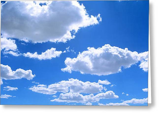 Clouds Abv Navajo Reservation Greeting Card by Panoramic Images