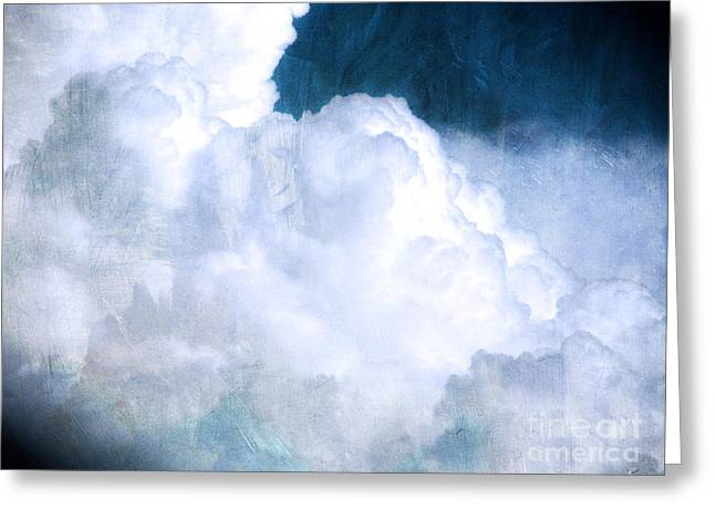 Clouds And Ice Greeting Card