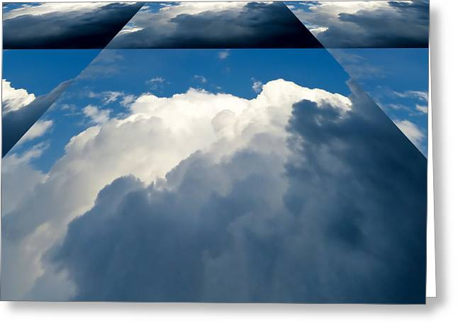 Clouds Ascending Greeting Card by Pete Trenholm