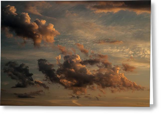 Clouds For Rembrandt Greeting Card