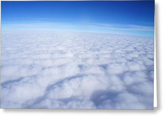 Greeting Card featuring the photograph Clouds II by Kristine Bogdanovich
