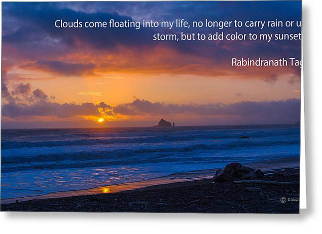 Clouds In Life Greeting Card