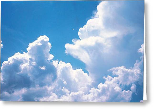 Clouds Japan Greeting Card by Panoramic Images