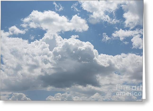 Clouds Greeting Card by Kay Pickens