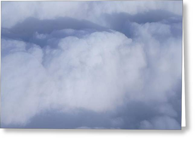 Greeting Card featuring the photograph Clouds by Kristine Bogdanovich